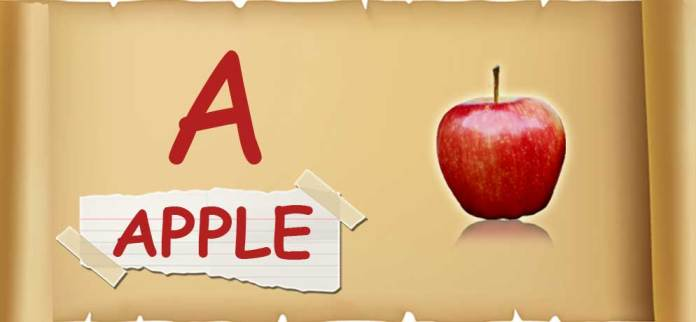 A-for-apple